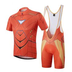 Superhero Iron man cycling Kits. Cycling Gear b30eb2f16