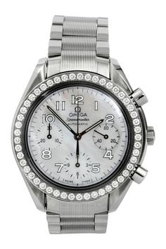 Omega Women's Speedmaster Chronograph Stainless Steel Watch by Austin's Watches on @HauteLook