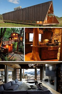 Bunyan's Pride: 19 Log Cabins That Stack Above The Rest   WebUrbanist