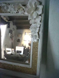 Espejo antiguo reciclado $62