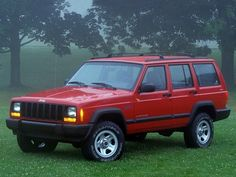 Jeep Cherokee Sport 1997. This looks just like the one I had. I miss my Jeep!!