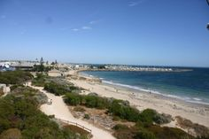 The beach at Fremantle, Perth