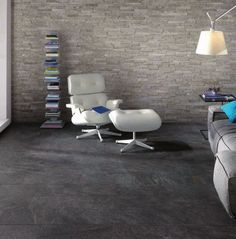 #Keope #Percorsi Quartz Black #Muretto 10,5x45 cm Q2R4 | #Porcelain stoneware | on #bathroom39.com at 96 Euro/sqm | #mosaic #bathroom #kitchen