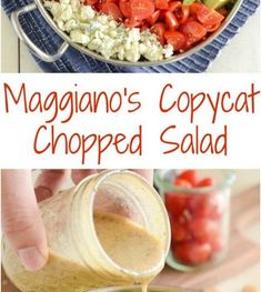 Copycat Maggianos Chopped Salad Recipe