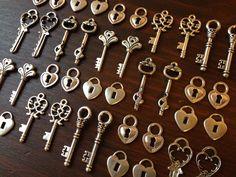 Popular items for heart lock on Etsy