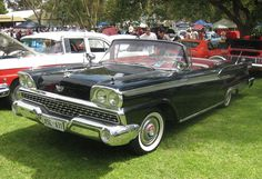 1959 Ford Galaxie Sunliner convertible - Ford Galaxie - Wikipedia
