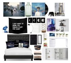 """Kalyn Nicholson Inspired Room"" by gottaloveus ❤ liked on Polyvore featuring interior, interiors, interior design, home, home decor, interior decorating, Imperfect Design, The Elephant Family, UGG Australia and Nordstrom"