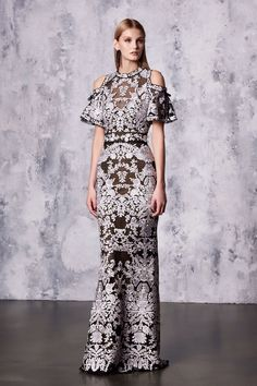 Marchesa Notte Resort 2018 Fashion Show Collection