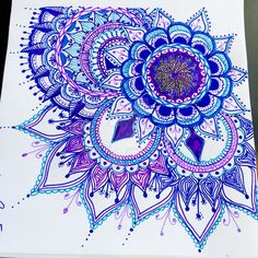 zentangle mandala - Google Search