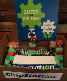 We're playing #guesstheweight again this morning (and afternoon) at @wooconf! Stop by our booth for a chance to win an #applewatch at 10:40! #getshipdone #wooconf