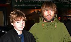 Liam Gallagher steps out with son Lennon