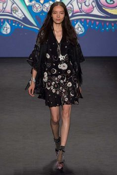Anna Sui Spring 2015 Ready-to-Wear - Collection - Gallery - Look 1 - Style.com