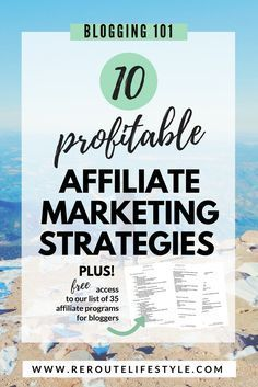 Have you tried every affiliate marketing tip in the book, but you're just not seeing conversions? If you want to monetize your blog, you need to approach affiliate marketing with a tested strategy. Read these 10 affiliate marketing strategies guaranteed to boost your blogging income. #makemoneyblogging #affiliatemarketing
