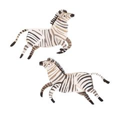 Two little stripy guys in gouache for a pattern Im working on ? Art And Illustration, Illustrations Posters, Animal Illustrations, Gouache, Watercolor Animals, Stuffed Animal Patterns, Zebras, Art And Architecture, Animal Drawings