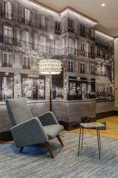 elegant and dramatic interior design ideas by Gerard Faivre Paris 6