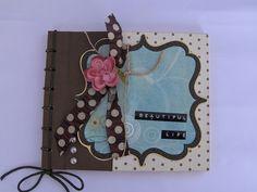 Mini album scrapbook costura japonesa | Flickr: Intercambio de fotos