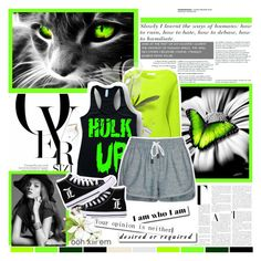 """""""Just like a Wildcat"""" by xmlwx ❤ liked on Polyvore featuring She's So, Glamorous and rag & bone/JEAN"""