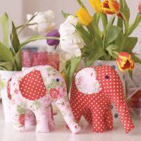 Pretty Elephant Toy Sewing Project