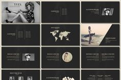 Yves - Elegant Presentation by Tugcu Design Co. on @creativemarket