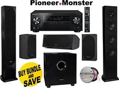 #photooftheday #followme  #Pioneer VSX-1130-K 7.2-Channel AV Receiver with Built-In Bluetooth and Wi-Fi (Black)  The Pioneer VSX-1130-K is creating a new reality...