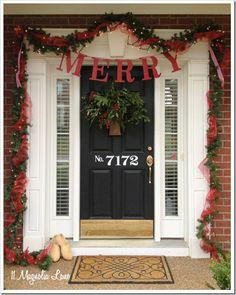 Number on front door