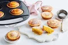 With a custardy, gooey bottom and fluffy top, these Kmart pie maker puddings taste exactly like the classic dessert! Mac And Cheese Muffins, Savory Muffins, Mini Pie Recipes, Cooking Recipes, Citrus Recipes, Fun Cooking, Just Pies, Fairy Bread, Classic Desserts