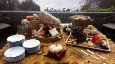 Autumn Fruit & Cheese Display