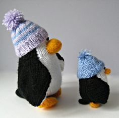 Editor's choice: penguin knitting pattern by amanda Berry