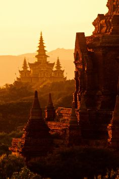 Temple Complex, Bagan, Mandalay Division, Burma
