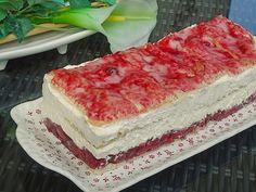 Beste Kuchen: Holländer Kirschsahne Schnitte