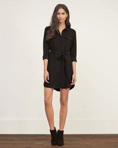 Abercrombie Soft Shirt Dress Found on my new favorite app Dote Shopping #DoteApp #Shopping