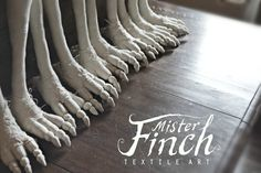 Mister Finch | Textile Artist Who Lives In a Fairytale World