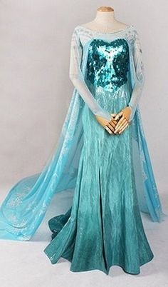 Elsa dress from FrozeN
