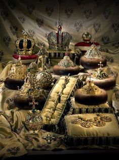 All regalia of Imperial and Tzar's Russia that are kept in The Diamond Fund, Kremlin, Moscow