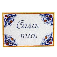RICCO DERUTA: 'Casa Mia' (My Home) Wall Tile