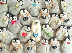 Diy Wool Felt, Felt Crafts, Diy Crafts, Felt Decorations, Felt Brooch, Knitted Dolls, Felt Animals, Softies, Needle Felting