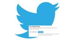Twitter comincia a rendere disponibile l'archivio dei tweets scaricabile