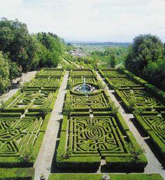 Italian Garden. Villa Ruspoli