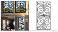 Rectangular 23×47-inch Tableaux Faux Iron Window Treatments are sustainable, fine home decor window treatments that are easy to install and dazzling to the eye. Delight your friends, family and neighbors with functional artwork that will never cease to amaze! For pricing and product details, please visit FauxIronDIRECT.com or call 1 (800)281-9963 today!