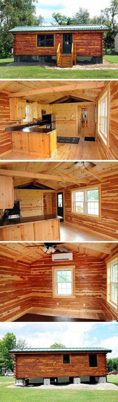 A 360 sq ft cabin in Cambridge, Ohio.