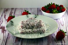 Gluten Free Berries Kuih Sago (Tapioca Pearls Cake)
