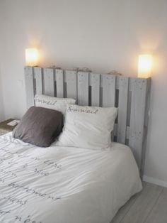 tete de lit palette deco pinterest comment. Black Bedroom Furniture Sets. Home Design Ideas