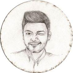 BY TATIANA GOMEZ ZAPATA @santiagobedoyam #illustration  #drawing #pencildrawing #ricoparico #grafito #retrato #portrait #guiñoguiño