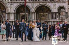 Walking in Piazza San Marco like VIPs - Venice, Italy