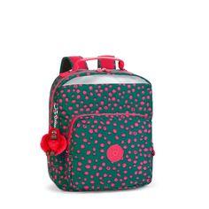 Kipling AVA BTS Medium School/Backpack/Rucksack DOT PLAY PRINT SPF2016 RRP £84 #Kipling