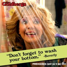 #Beverly #TheGoldbergs my mom wore her hair EXACTLY like that and had all those crazy sweaters.  Maybe that's why this show is so funny to me...
