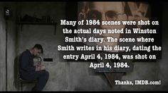 Nineteen Eighty-Four - great book, great movie  #movie #fact #1984