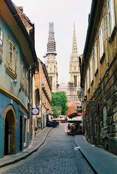 "allthingseurope: ""Zagreb Cathedral, Croatia (by paion / Dejan Jovanovski) """
