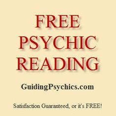 Psychic Source is offering free readings for new customers! Get your special promo code here!