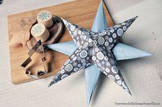 Cómo hacer estrellas de papel para Navidad